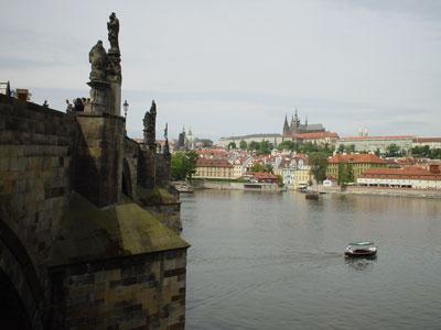 カレル橋からプラハ城