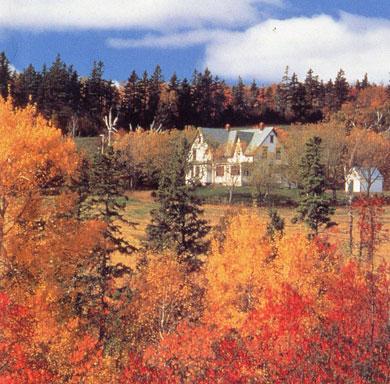 プリンスエドワード島の秋