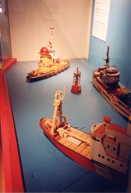 海洋博物館タグボートのテオドール
