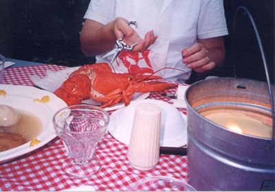 ロブスターディナー