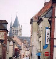 L'Aigleの町