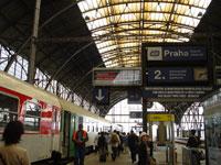 プラハ駅 ホーム
