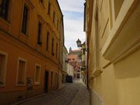プラチスラバの小道