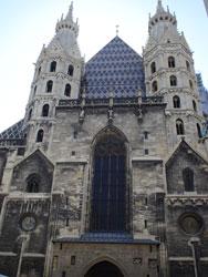 聖シュテファン教会正面