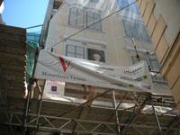 工事中のフィガロハウス