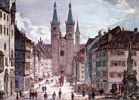 昔の町の風景