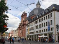 ビュルツブルクの町