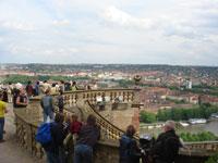マリエンブルク要塞のテラス