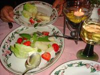 ホワイトアスパラカスサラダ